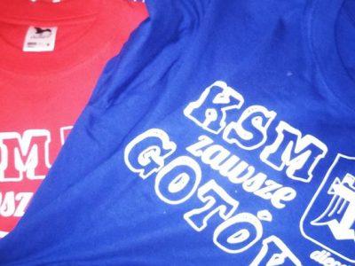 Nie masz jeszcze naszej KSMowej koszulki?