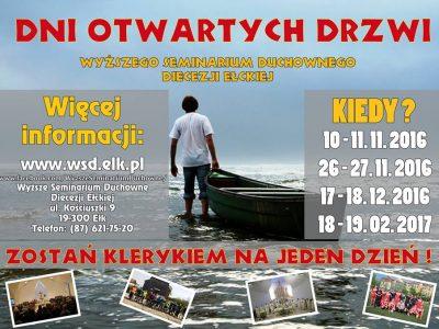 Wyższe Seminarium Duchowne w Ełku otwiera drzwi!